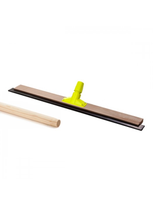 Wooden Floor Squeegee 36 inch 915mm with Quick Release Socket & 5FT 1500mm Long Handle