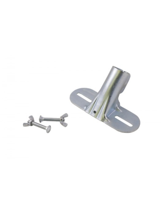 Heavy Duty Metal Broom Bracket Socket with Nuts and Bolts