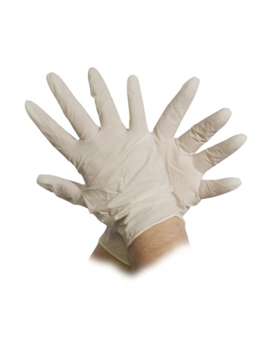 Latex Powder Free Gloves 100 Box