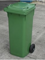 Wheelie Bin 140 Litre Red Blue Yellow Green Grey