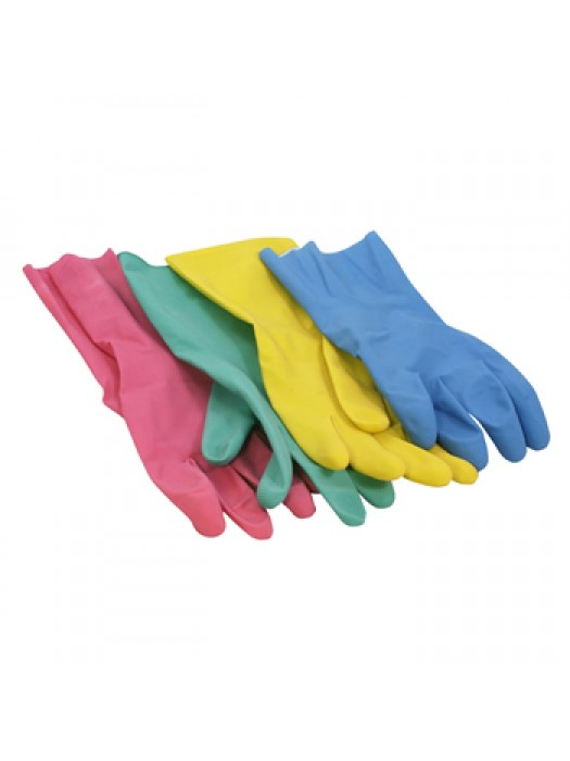 Household Rubber Marigold Style Gloves