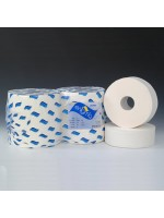 "Mini Jumbo Toilet Paper Tissue Rolls 2 1/4"" 60mm Core 150M Pack of 12"