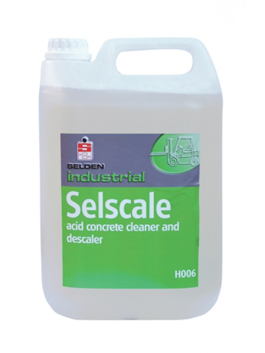 Selden H006 Selscale Acidic Concrete Cleaner Descaler 5L
