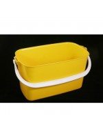 9 Litre Oblong Window Cleaner Bucket Red Blue Yellow Green
