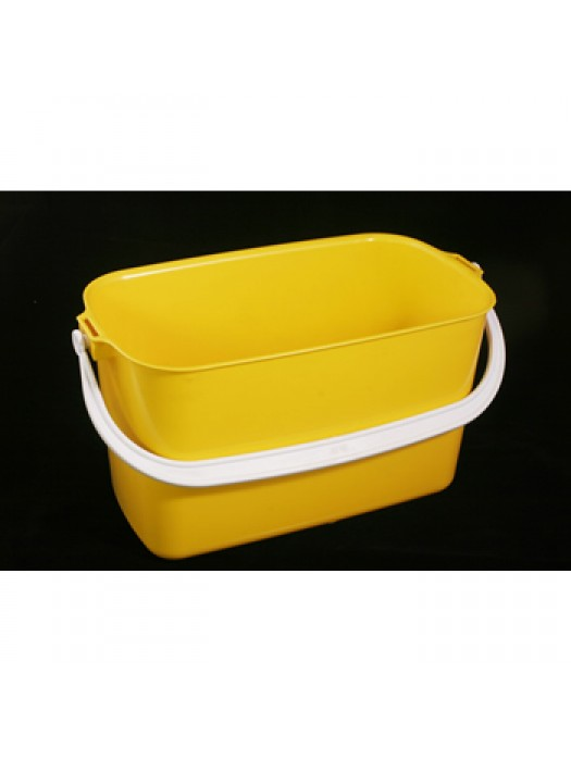 9L  Oblong Window Cleaner Bucket Red Blue Yellow Green