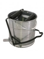 10L Step on it Roller Galvanised Mop Bucket