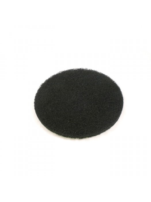 Floor Machine Buffing Pad Black Coarse Grade 15 inch Pack of 5