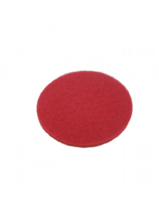 Floor Machine Buffing Pad Red Spray Polishing 17 inch  Pack of 5