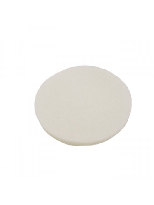 Floor Machine Buffing Pad White Super Buffer 17 inch Pack of 5