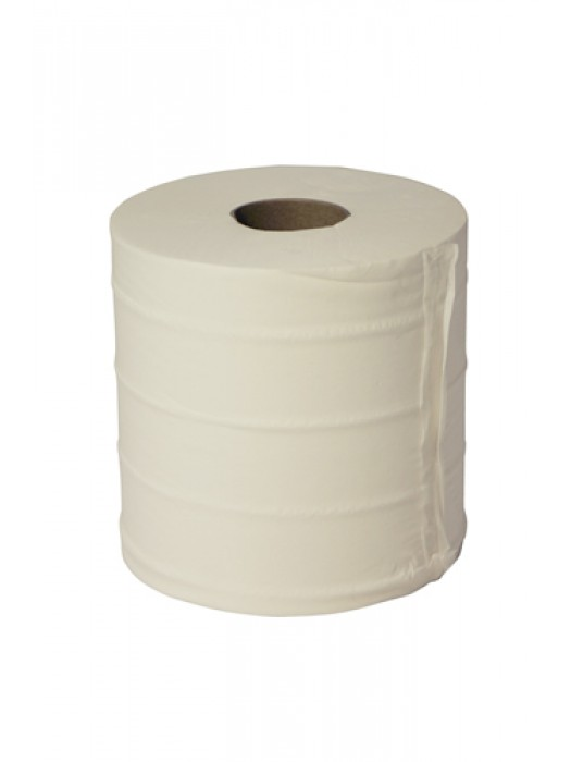 Centrefeed Paper Tissue Roll White 2Ply  Pack of 6