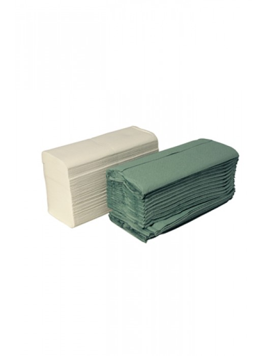 C Fold Paper Hand Towel Green 1Ply Pack of 2800