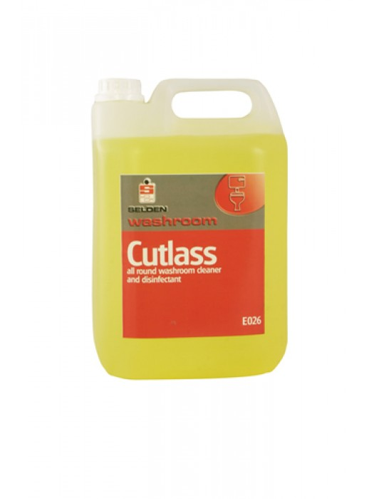 Selden E026 Cutlass Lemon Washroom Cleaner Disinfectant 5L