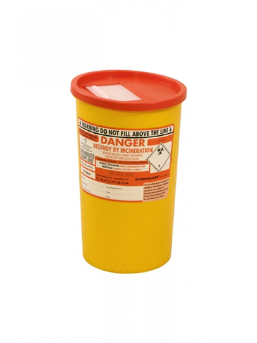 Sharps Syringe Needle Disposal Bin 5L