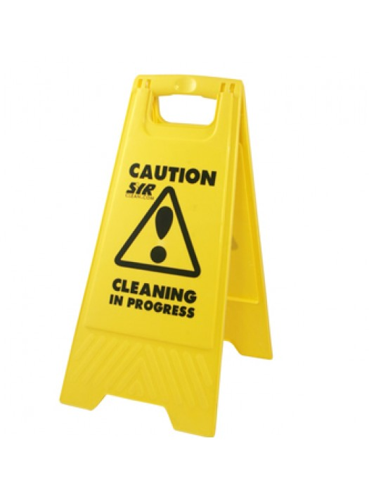 Wet Floor Caution Cleaning in Progress Warning Sign