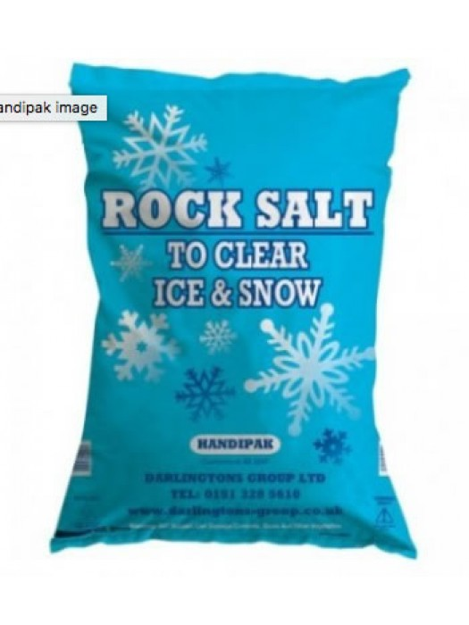 Rock Salt Grit De Icing 20kg Bag
