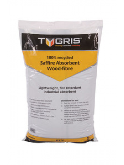 Tygris Saffire Wood Fibre Oil 30L Bag