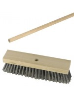 "12"" Wire Steel Broom Brush with Handle"